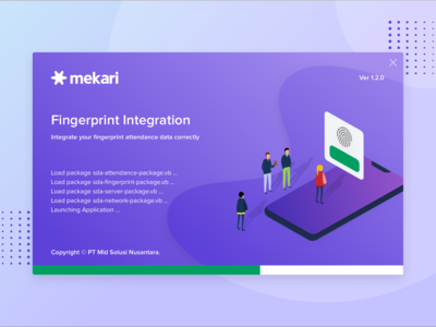 Mekari Fingerprint Integration