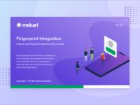 Mekari Fingerprint Integration