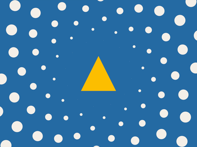 Feelings of a fraud triangle illustration clean flat motion design loop after effect motion graphics animation