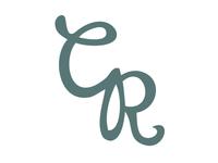 CR Swash monogram