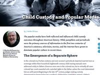 Essay Child Custody Project