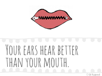 UX Learnings Your Ears Hear Better Than Your Mouth