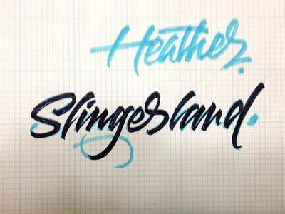 Heather Slingerland Sketch