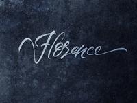 Florence Script