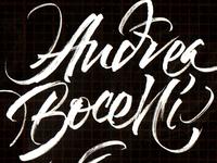 Andrea Bocelli Sketch