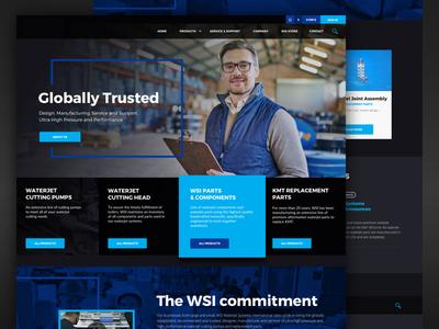 Waterjet Systems Company Website