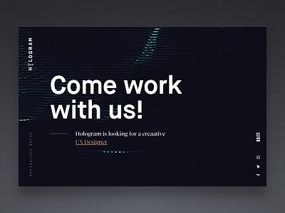 UX Designer Needed! studio design process startup lean interface experience user designer ux