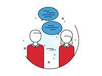 In-person meeting Icon