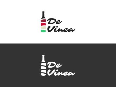 Devinea logo wine eshop wines bottle pattern