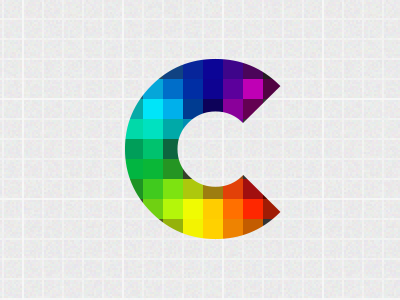 Personal rebranding logo multi-color branding logotype