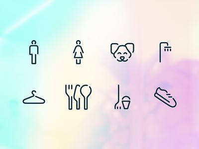 Navigation icons set navigation design navigation ui iconography icon design linework lines icons pack iconset icons line art