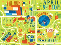 Los Angeles Times – Festival of Books Poster