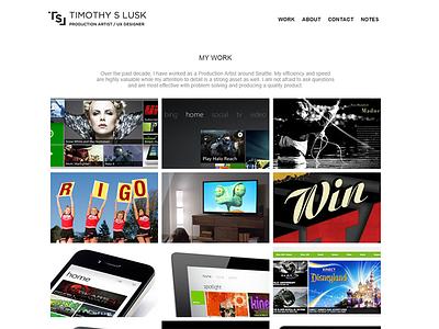 Personal Web Site web site personal portfolio