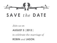 Robin & Jason - Save The Date