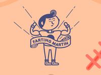 Farting Martin