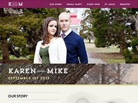 My Wedding Website
