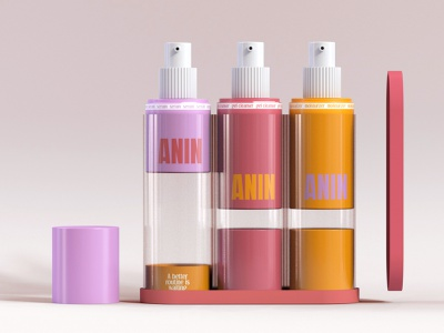 Anin Skincare Branding, Product Design and Packaging cinema4d photography branding design brand identity beauty label product design industrial design packaging branding graphic design design modern minimal