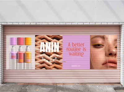 Anin Skincare Branding, Product Design and Packaging
