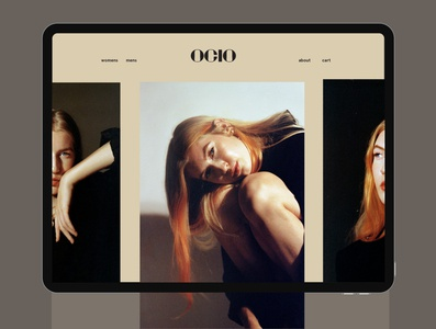 Ocio Site Design sitedesign logo adobe illustrator adobe photoshop photography branding graphic design design modern minimal