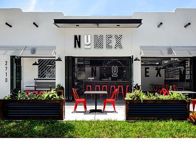 NuMex Brand Development illustraion adobe illustrator adobe photoshop environmental branding graphic design modern design minimal