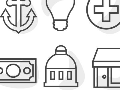 Iconset (WIP) illustration icons