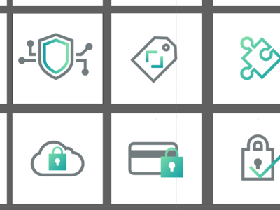 Working on some cybersecurity icons icons illustration icon