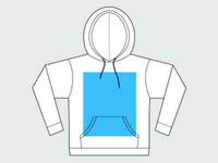 Unisex Pullover Hoodie Template