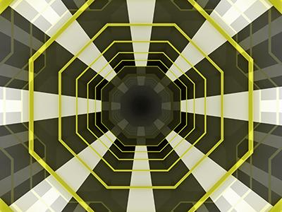 MMI maya 3d geometric space octagon 2001: a space odyssey