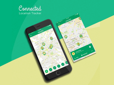Location Tracker mobileapp locationtracker connected friends pins mapping mapmarker location tracker map location