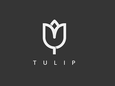 Tulip flower flower logo tulip logo tulip flower icon logo flower tulip