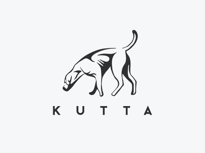 dog logo design brand brandmark logo design logodesign vector dog ink dog active dog dog searching kutta dog logo art ink vector logo dog