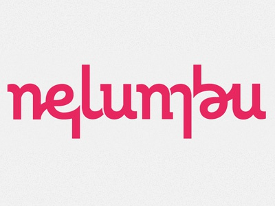 Nelumbu Logo logo ambigram agency creative