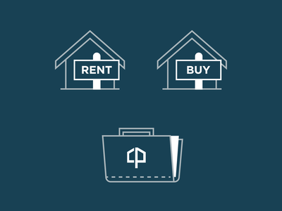 City Point Building Co. Icon Set 1 portfolio rent housing builder developer iconset icons