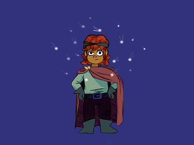 First-time Adventurer 1/30 fairies adventurer character design procreate illustration character quest