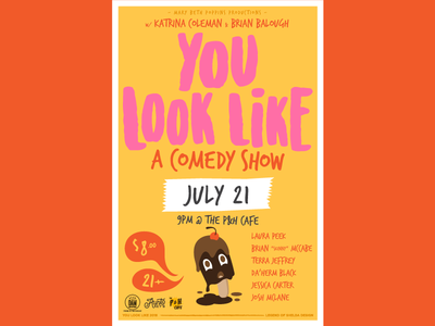 You Look Like a July Poster