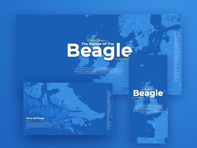 Charles Darwin and the Voyage of the Beagle webdesign cartography mapbox studio webflow educational science scrolling data dataviz google maps mapbox map