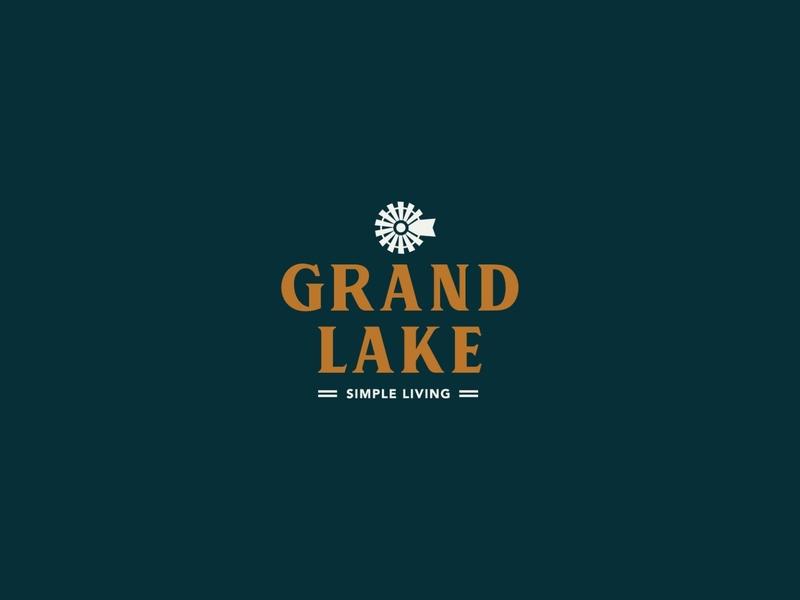 Grand Lake Logo icon logo vector branding design