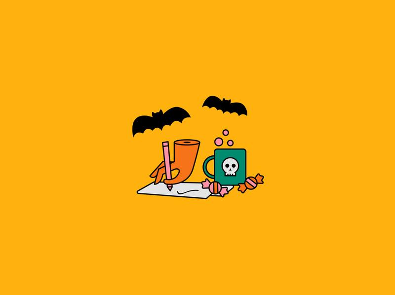Halloween werk