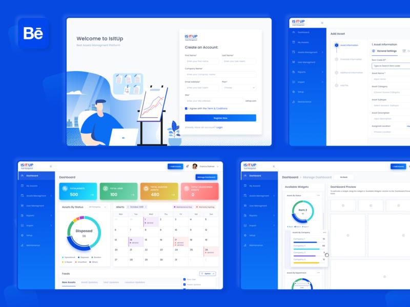IsItUp Assets Management Platform