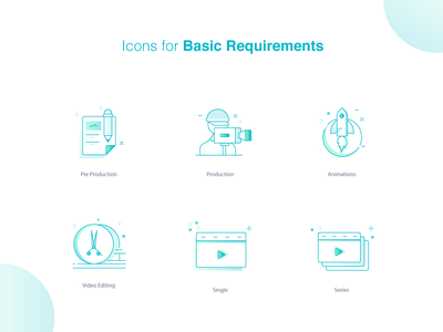 Icons for saas marketplace. 2