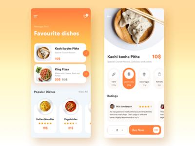 Food App Exploration