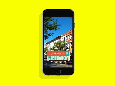 Downtown Whitby Snapchat Filter