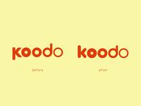 Koodo Mobile Logo Cleanup