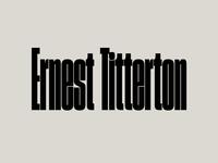 Ernest Titterton