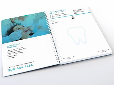 Dental Prescription Pad Book & Envelope prescription pad envelope doctor dentist dental doctor dental care dental clinic business