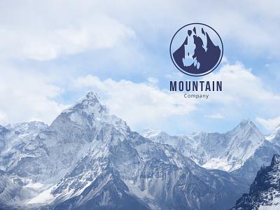 Mountain Logo mountain logo mountain mount hill hiking corporate logo company camping camp awesome logo
