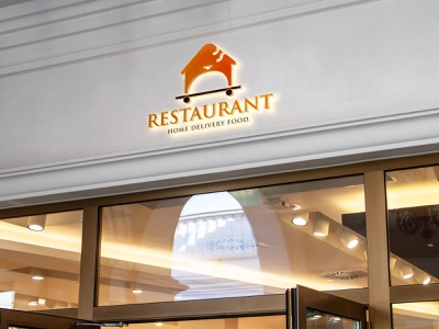 Restaurant Logo restaurant logo resort logo home delivery food cuisine chef catering business bistro