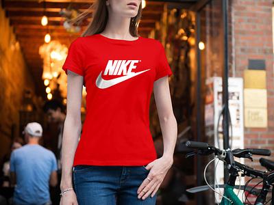NIKE T-shirt Design t-shirt red t-shirt player play nike t-shirt nike jersey club clothing apparel