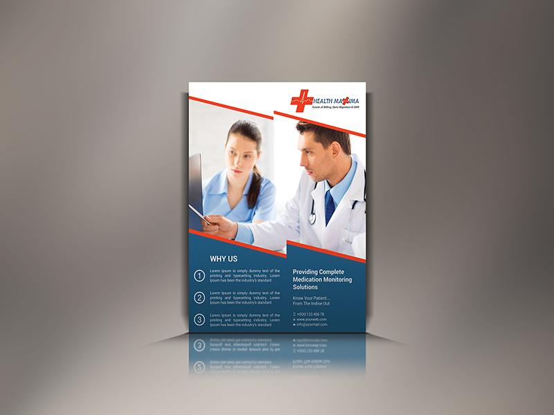 medical flyer by rock design dribbble