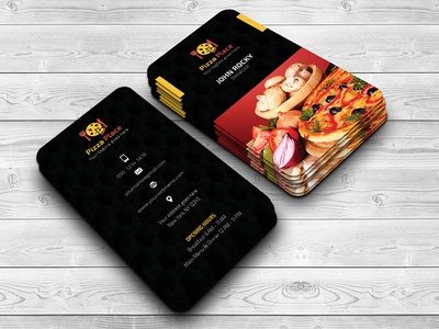 Pizza Place Business Card